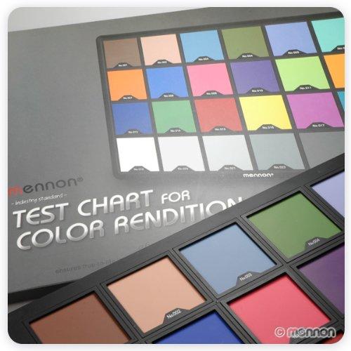 Mennon Test Color Chart Super Large Size 15''x10''
