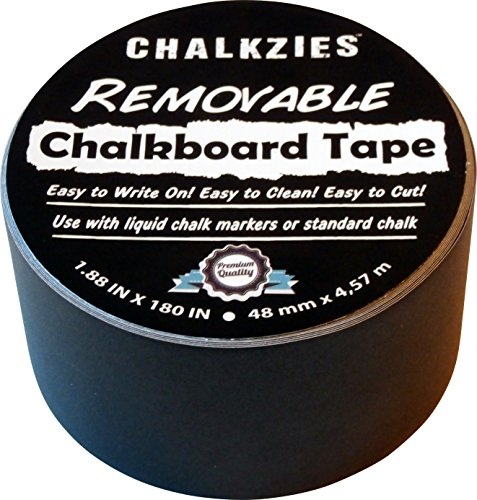 Chalkzies Removable Chalkboard INCHES 1 Pack
