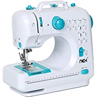 Sewing Machine Portable Crafting Mending Machine with 12 Built-in Stitches Double Thread and Speed for Beginner