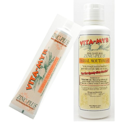 VITA MYR Value Package Toothpaste Mouthwash product image