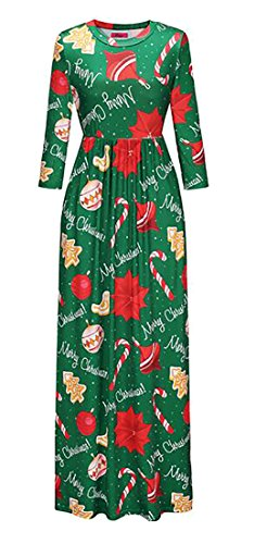 Evening Maxi Long Dress Print Dress Women Party Sleeve Floral Jaycargogo Boho 10 qTwCnR0x