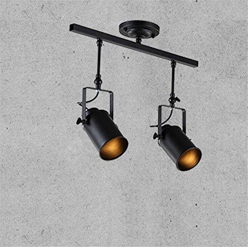 E27 Vintage Spotlight Pendant Lights Adjustable Ceiling Lights Industrial Retro Rotatable Chandelier Bedroom Living Room Clothing Shop Hotel Resturant Cafe Bar Mall Hanging Lights Indoor Lighting,A