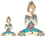 yoga car decal - Yoga Girl 5