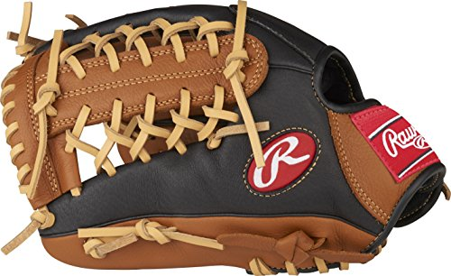 (Rawlings P115GBMT-0/3 Prodigy Youth Baseball Glove, Right Hand, Modified Trap-Eze Web, 11-1/2 Inch )
