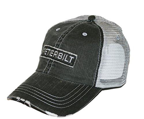 Peterbilt Motors Raw Edge Patch Mesh Trucker Cap