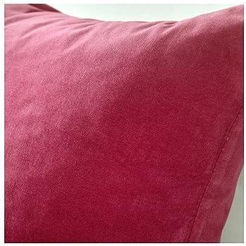 Amazon Com Ikea Sanela Cushion Throw Pillow Cover Wine