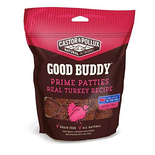 Good Buddy Cookies - Good Buddy Prime Patties Real Turkey Recipe, 4 oz