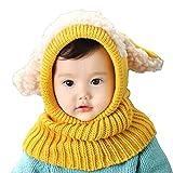 Oyedens Oyedens Fotografia Bebes Newborn Photography Props El Bebé Del Invierno Para NiñOs Muchachos De Las NiñAs Woolen Cofia De La Capilla De La Bufanda Capsula Los Sombreros
