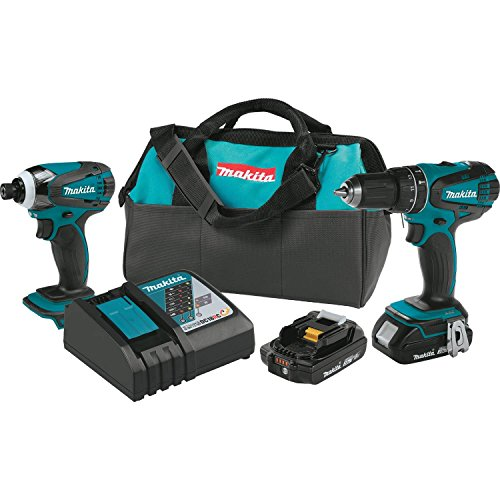 Big Save! Makita XT273R 18V LXT Lithium-Ion Compact Cordless 2-Pc. Combo Kit (2.0Ah)