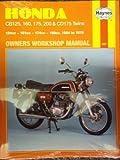 Haynes Honda 125, 160, 175, 200 and CD175 Twins Owners' Workshop Manual, 1964-1978, Clew, Jeff, 0900550678