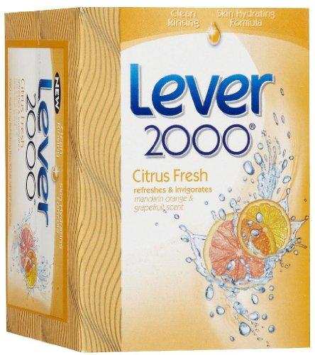 (Lever 2000 Soap Bath Bar Citrus 4 oz 2-Count)
