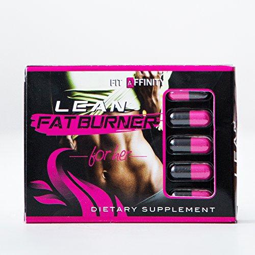 Affinité fit brûleur de graisse maigre complément alimentaire pour les femmes - 15 jours d'alimentation (30 Capsules)
