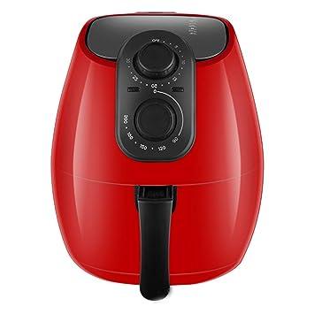 gengyouyuan Freidora de Aire Freidora Inteligente Freidora eléctrica sin Aceite 4L Máquina de Papas Fritas Olla eléctrica Caliente (4L Rojo): Amazon.es: ...