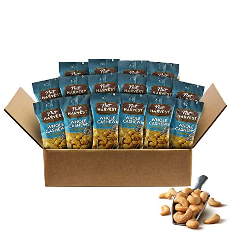 Nut Harvest Premium Nuts, Cashews, 40 Ounce