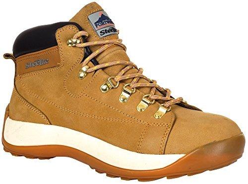 Portwest Men's Steelite Mid Cut Nubuck Steel Toe Cap 12 Honey ()