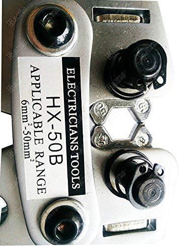 SSY-YU HX-50B圧着工具50スクエア特殊冷間プレスプライヤー配線プライヤーターミナルプライヤー ペンチ 切断工具