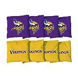 Victory Tailgate Minnesota Vikings NFL Cornhole Game Bag Set (8 Bags Included, Corn-Filled)