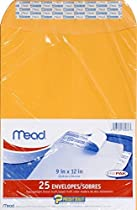 Mead Press-It Seal-It Envelopes, 9 x 12 Inch, Office Pack 50 Count (76086)