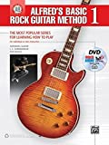 Alfred's Basic Rock Guitar Method, Bk 1: The Most Popular Series for Learning How to Play, Book, DVD & Online Audio, Video & Software (Alfred's Basic Guitar Library)