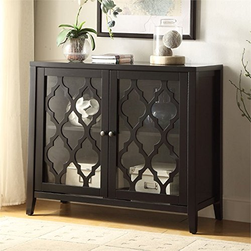 ACME Furniture Acme 97382 Ceara Cabinet, black, One Size by Acme Furniture