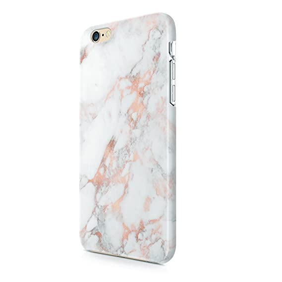online retailer 128b0 d1e4c uCOLOR Rose Gold Marble Matt Case Compatible with iPhone 8 Compatible with  iPhone 7/6S/6 Case for Girls Soft TPU Protective Case Compatible with ...