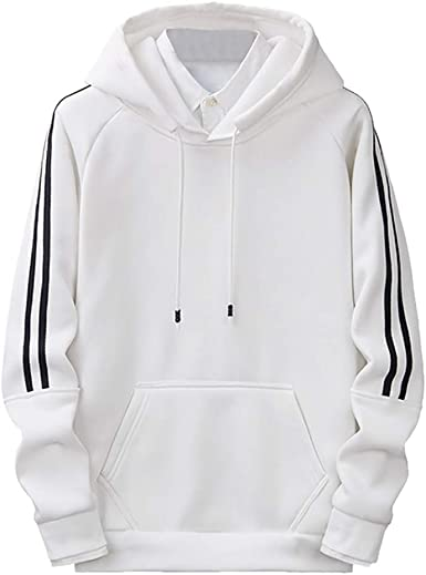 Hommes Hiver Chaud Capuche Sweatshirt Manches Longues Pull Loisirs Hoodie Pull