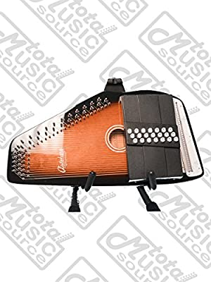Oscar Schmidt 21 Chord/11 Key A/E Autoharp, Select Maple, OS21CE