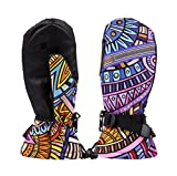 Seal Skin Waterproof Socks Best Deals - Timeiya Sunflower Women Anti-Skid Warm Gloves for Outdoor Cycling,Skiing Windproof Waterproof SBR