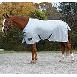 Shires Tempest Fly Sheet with Standard Neck - White - 69