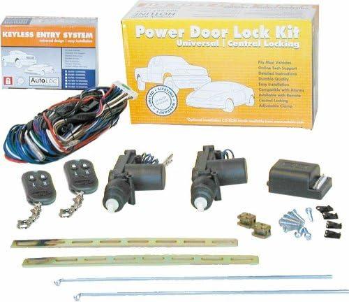 AutoLoc 10946 Custom Power Door Lock Kit with Remote for Volkswagen