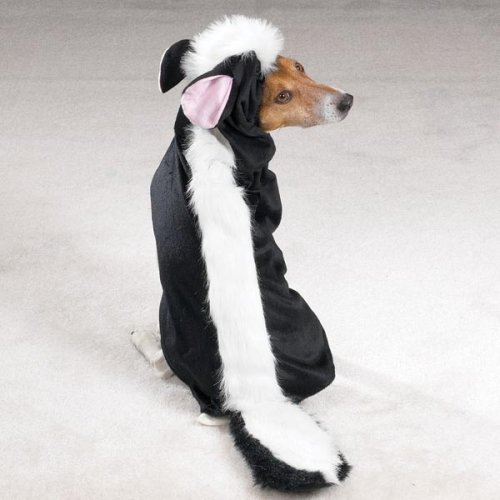 Skunk Dog Costume Large (X-LARGE - LITTLE STINKER - Dog Halloween Costume)