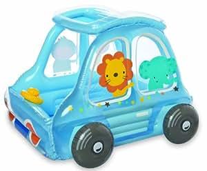 Intex Inflatable Animal Car Play Center Ball Toys, Multi Color