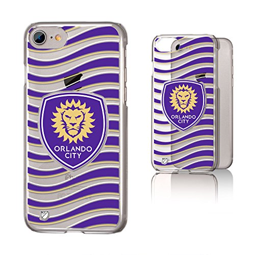 Keyscaper Orlando City Soccer Club Wave iPhone 6/7/8 Clear Slim Case MLS by Keyscaper