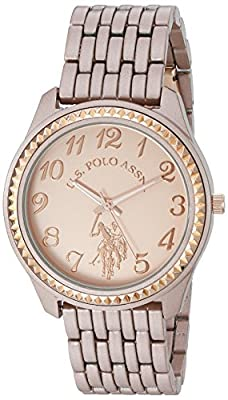 U.S. Polo Assn. Women's Quartz Metal and Alloy Automatic Watch, Color:Rose Gold-Toned (Model: USC40099)