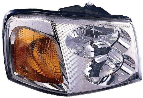 15866070 Headlamp - Depo 335-1120R-AS GMC Envoy Passenger Side Replacement Headlight Assembly