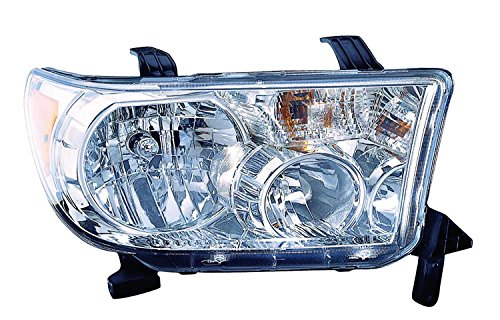 / Sequoia 08-14 Headlight Assembly (09-10 without Level Adjuster) RH USA Passenger Side NSF ()