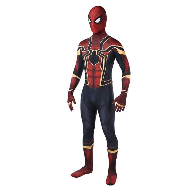 Amazon.com: Spiderman Homecoming Avengers Costume Spider-Man ...