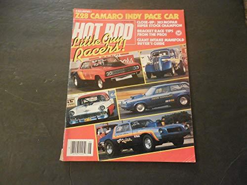 Hot Rod Jun 1982 Z28 Camaro Indy Pace Car; 383 MOPAR Super Stock Champ