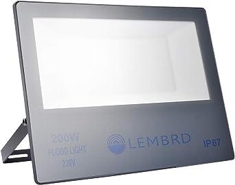 Foco LED 200W, Reflector Foco Proyector LED Súper Brillante de ...