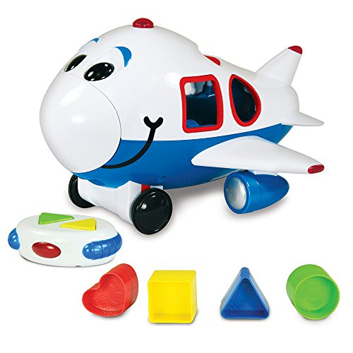 The Learning Journey Remote Control Shape Sorter, Jumbo The Jet Plane