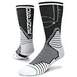 Stance Two Way Fusion Basketball Crew Sock Large 9-12