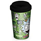 Official Licensed Rick & Morty - Ceramic Travel Mug
