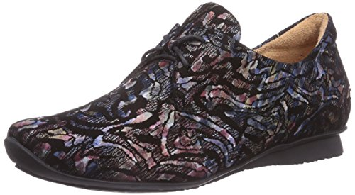 Think! CHILLI Halbschuh - zapatos con cordones de cuero mujer multicolor - Mehrfarbig (MULTICOLOUR 99)