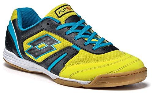 Lotto - Zapatillas de fútbol sala para hombre YELLOW LIME BLACK