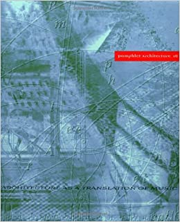 essays on the intersection of music and architecture The texts in the book range from historiographical and theoretical explorations of the relations between music and architecture via translations of architectural.
