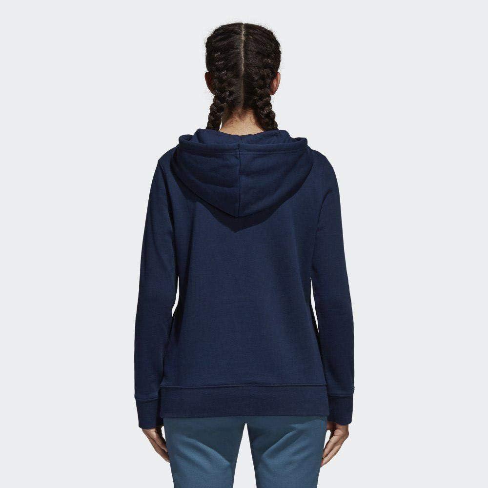adidas Trefoil Hoodie - Sweat à Capuche - Femme Bleu (Collegiate Navy)