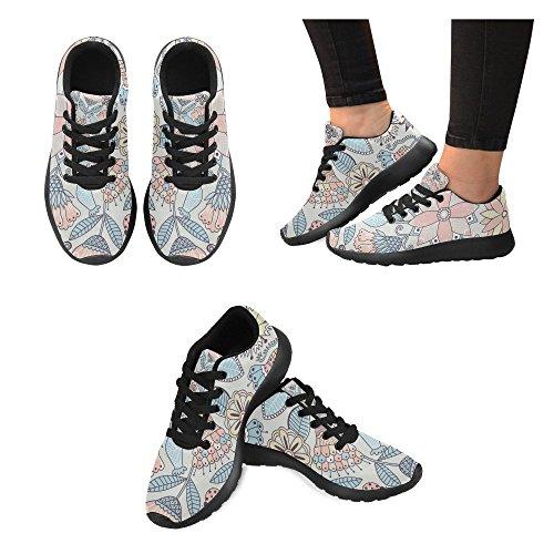 Zenzzle Zapatillas de running de Lona para mujer Negro negro Color 14