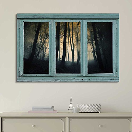 Vintage style framed art decor