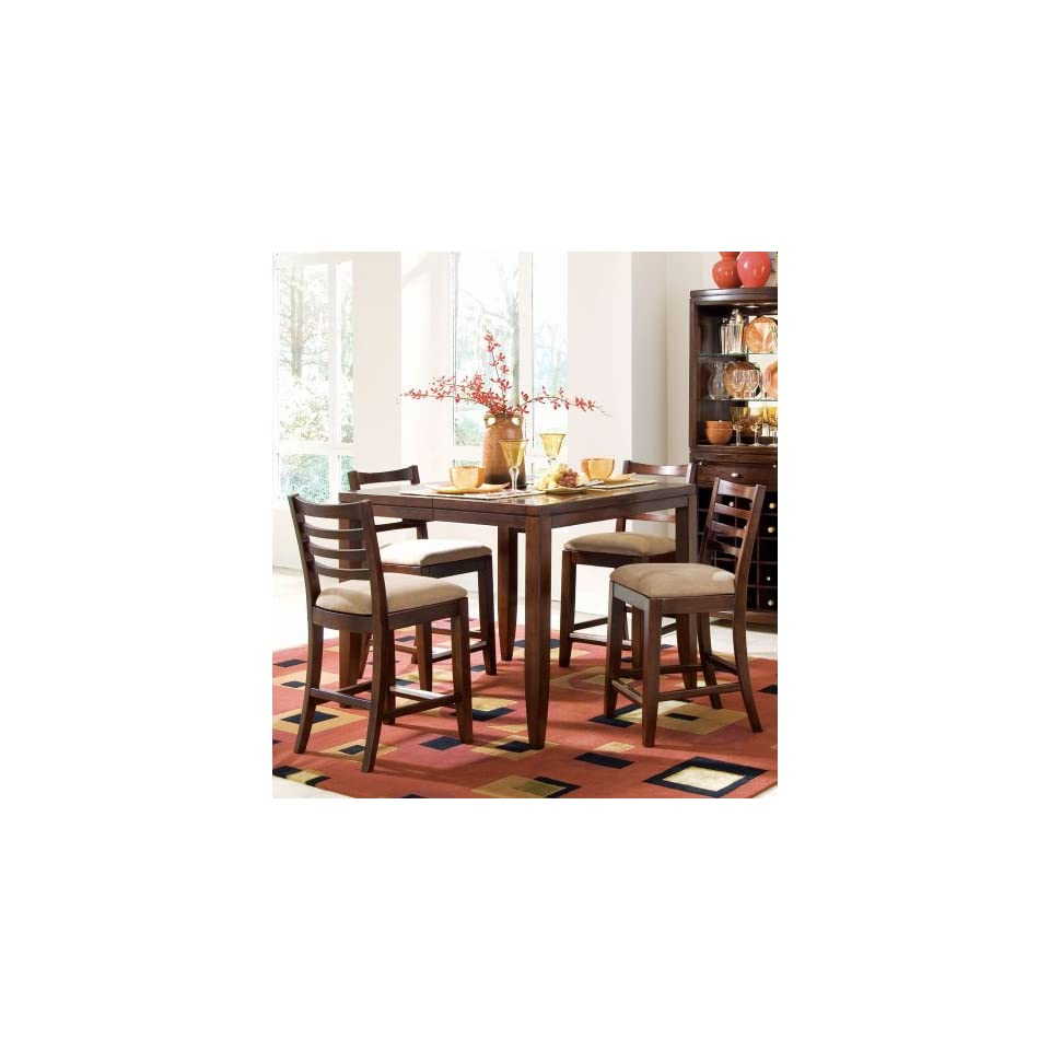 American Drew   Tribecca Counter Height Pub Table Kd   912 706