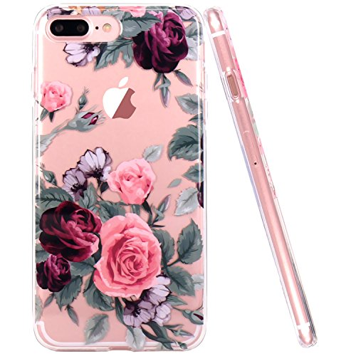 iPhone 7/8 Plus – Pink Purple Rose Case